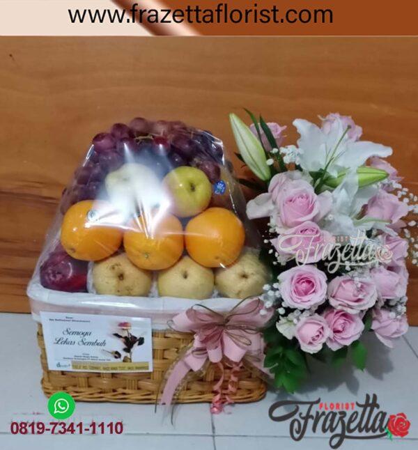 Parcel Buah & Bunga di Toko Bunga Cempaka Baru
